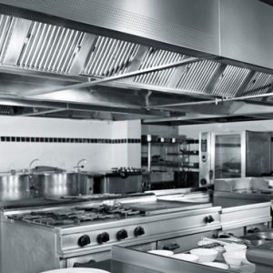 kitchen sparkling clean