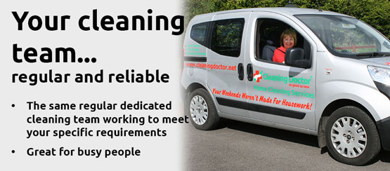 Your cleaning team - regular and reliable