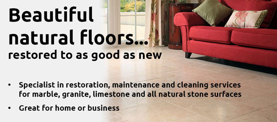 picture of marble floor - beautiful natural floors restored to as good as new