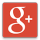 google plus icon with shadow