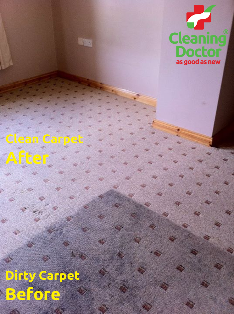 Carpet Cleaning Before + After