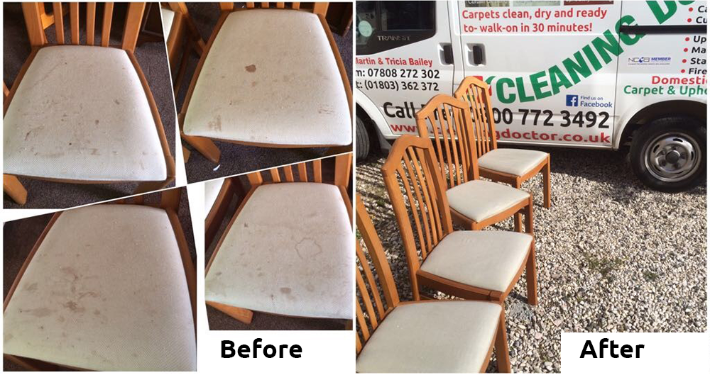 Dining Chairs Before + After