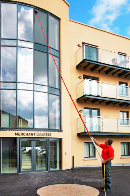 commercial window cleaning edinburgh
