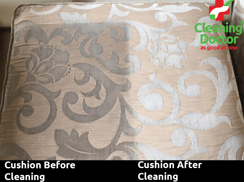 Cushion Before + After
